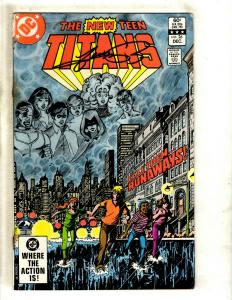 The New Teen Titans # 26 VG/FN DC Comic Book SIGNED George Perez Batman J371