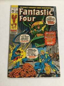 Fantastic Four 108 Vf Very Fine 8.0 Marvel