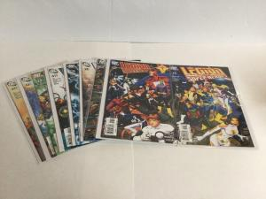 Legion Of Super-Heroes 37-43 47 Lot Nm Near Mint Issue 37 Connecting Cover Set