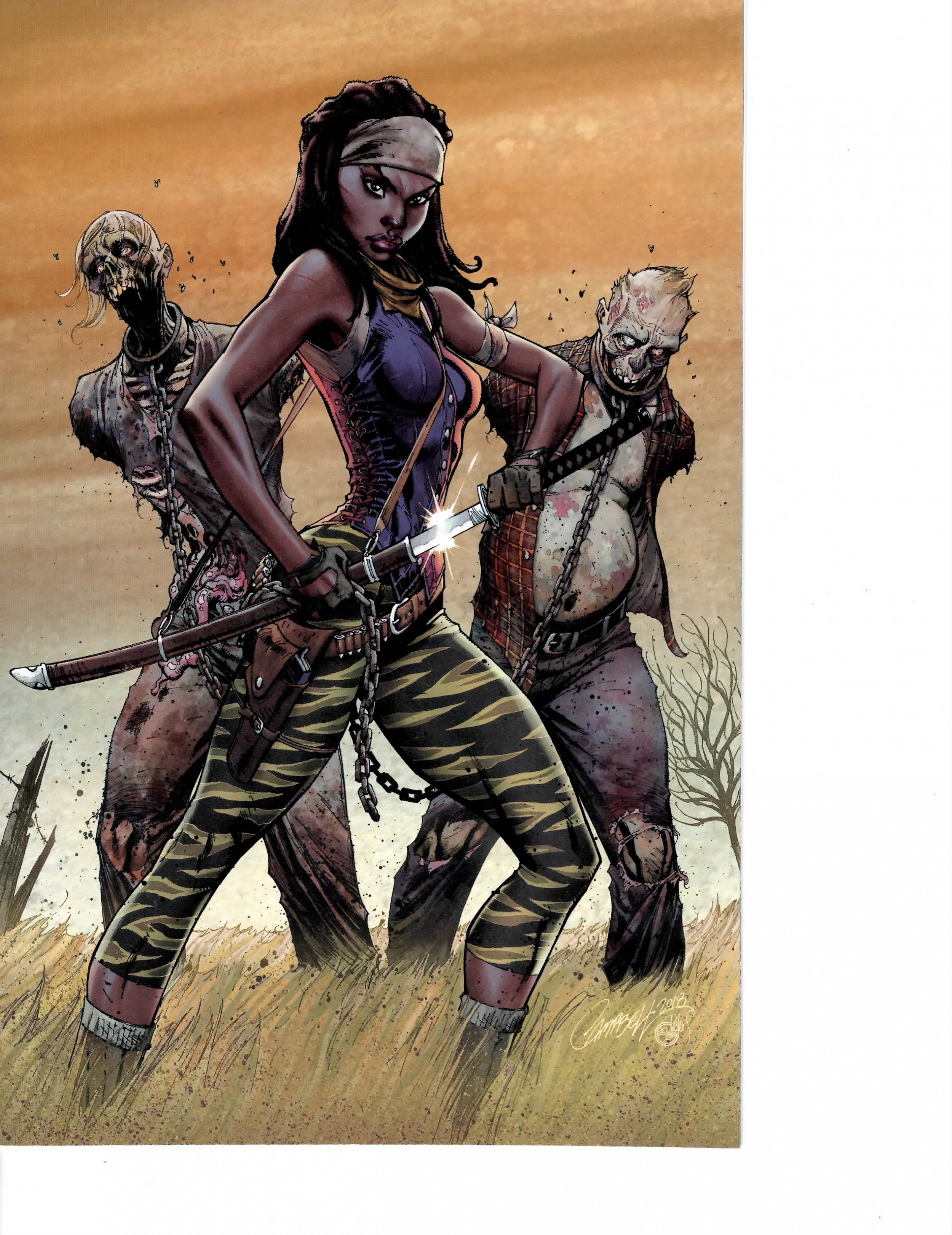 THE WALKING DEAD #185  NM   COVER /'B/' SIENKIEWICZ
