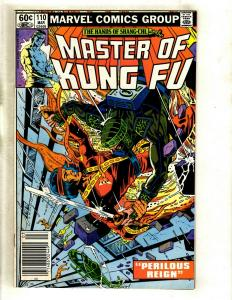 10 Master of Kung Fu Marvel Comics # 110 111 113 114 115 116 117 118 119 120 WS6