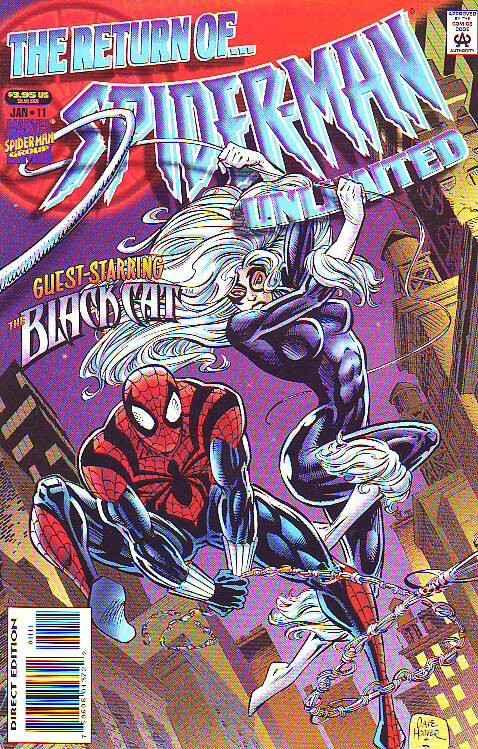Spider-Man Unlimited #11 (Jan-95) NM/NM- High-Grade Spider-Man