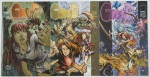 CreeD: Utopiate #1-3 VF/NM complete series - trent kaniuga - image comics set