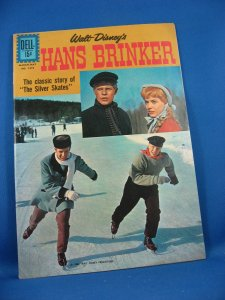 Four Color 1273 HANS BRINKER VF+ Photo Cover 1962 Holland