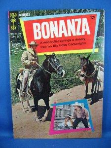 Bonanza #24 (May 1967, Western Publishing) Photo Cover