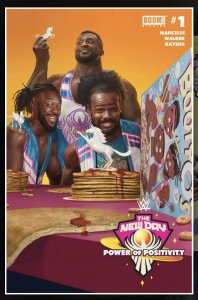 WWE THE NEW DAY: POWER OF POSITIVITY #1 RAHZZAH