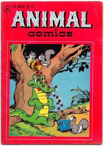 ANIMAL COMICS #19 (Feb1946) 7.0 FN/VF • 3 Stories & 2 Covers by Walt Kelly!!