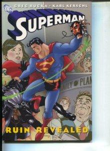 Superman Ruin Revealed-Greg Rucka-TPB-trade