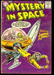 MYSTERY IN SPACE #40-WILD SCI-FI TALES-DC VG