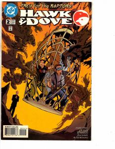 Lot Of 4 Hawk & Dove DC Comic Books # 2 3 4 5 Batman Superman Flash Arrow J211