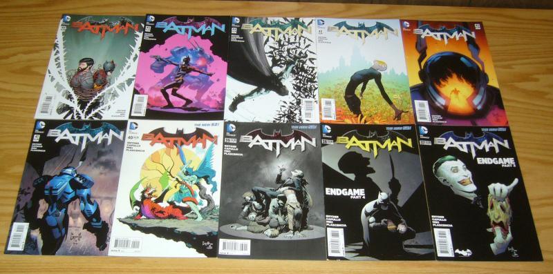 Batman #37-52 VF/NM complete set - scott snyder - greg capullo - last issue new