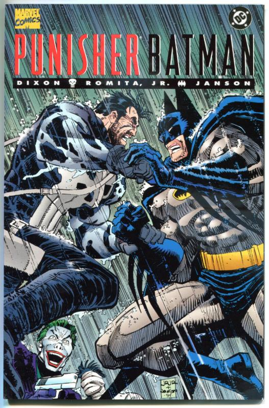 PUNISHER / BATMAN #1, NM, Dixon, Romita, Janson, 1994, Marvel, DC, more in store