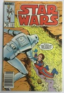 STAR WARS#86 VF 1984 NEWSTAND EDITION MARVEL COMICS