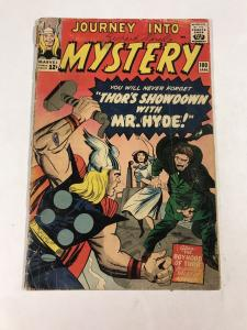 Journey Into Mystery 100 2.0 Gd Good Marvel Silver Age