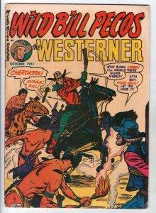 The Westerner, Wild Bill Pecos  #40 (Oct-51) FN Mid-Grade Wild Bill Pecos, Lo...