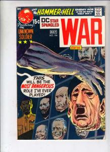 Star Spangled War Stories #156 (May-71) FN/VF+ Mid-High-Grade Unknown Soldier...