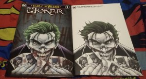Joker Year of the Villain #1 NM RYAN  KINCAID Exclusiv Variant set