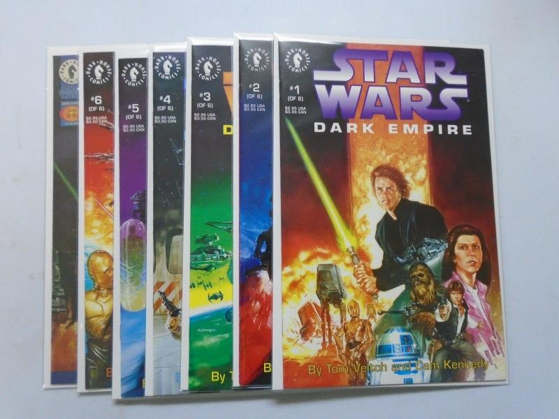 Star Wars Set: # 1 - 6 + Preview 8.0 VF (1991)