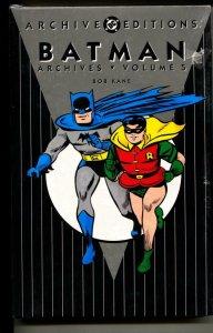 Batman Archives 5 hardcover- sealed