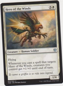 Magic the Gathering: Theros Beyond Death - Hero of the Winds