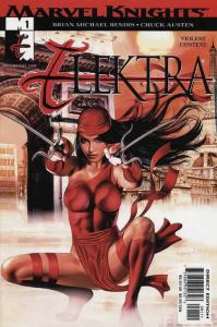 Elektra (3rd Series) #1 VF/NM; Marvel | save on shipping - details inside