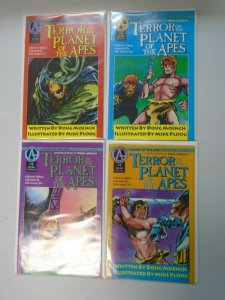 Terror on the Planet of the Apes #1-4 6.0 FN (1991)