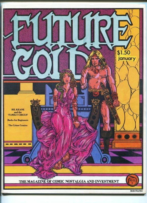 FUTURE GOLD #7 12/1980-SCHUTT-FANZINE-CARL BARKS-RUDI FRANKE-OVERSTREET-vf