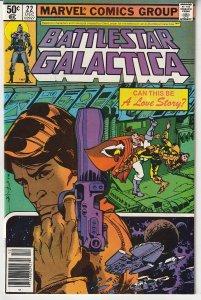 Battlestar Galactica(Marvel) # 22  Love Interest For Apollo ?