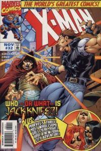 X-Man #32, NM (Stock photo)
