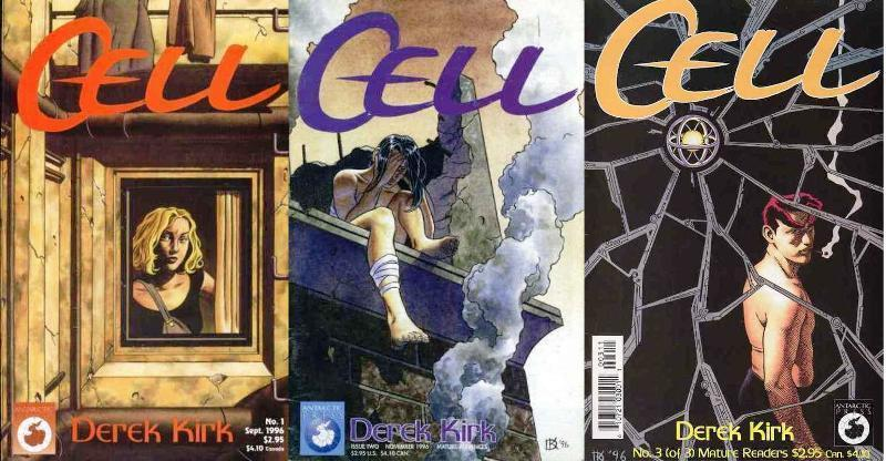 CELL (1996 ANTARCTIC) 1-3 Slings & Arrows recommended!