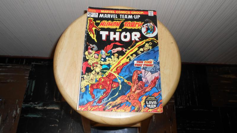 MARVEL TEAM-UP featuring THE HUMAN TORCH and THOR # 26