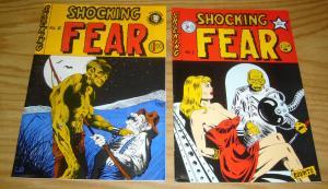 Shocking Fear #1-2 VF/NM complete series - underground comix - roden - zabel set