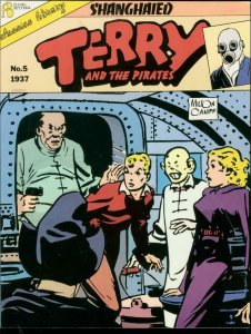 TERRY AND THE PIRATE #5-1987-MILTON CANIFF-TPB-BURMA VG