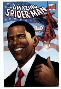 Amazing Spider-Man #583 3rd printing-barack obama variant Marvel Comic Book