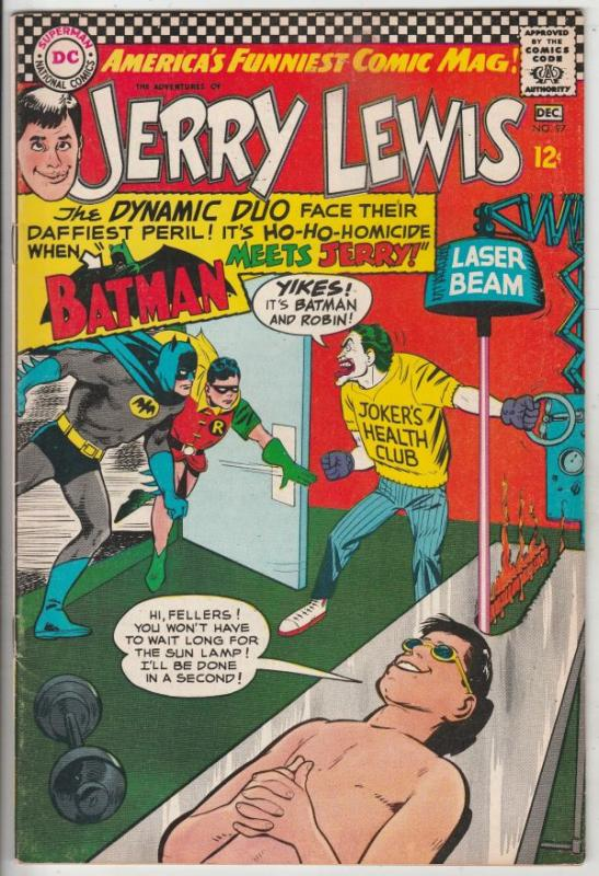 Jerry Lewis, the Adventures of #97 (Dec-66) VF/NM High-Grade Jerry Lewis