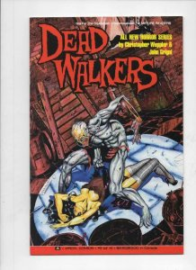 DEAD WALKERS #2, VF+, Zombies, Aircel, 1991, Plague, more Horror in store