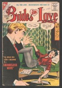 Brides in Love #32 1962-Charlton-Classic Dick Giordano cover & story art-Sha...