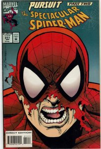 Spectacular Spider-Man #211 Sal Buscema Typyoid Mary NM
