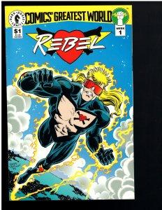Comics' Greatest World: Golden City #1 (1993)