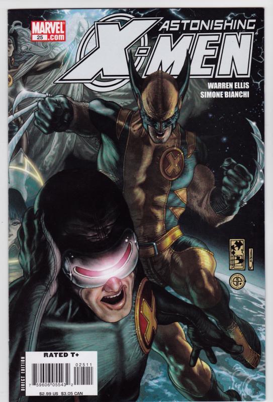 Astonishing X Men 25 3rd Series 85 VF