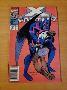 X-Factor #58 Newsstand Edition ~ VERY FINE NEAR MINT NM ~ (1990, Marvel Comics)
