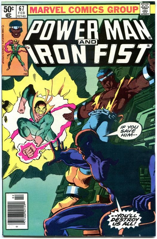 POWER MAN & IRON FIST #67 68 69 70 71, VF/NM, Luke Cage 1974, 5 iss, Kung-Fu