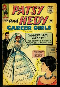 Patsy and Hedy #98 1964- Marvel Romance- Paper Dolls- POOR
