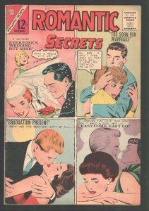 Romantic Secrets #47 1963-Charlton-Dick Giordano wedding cover-FN/VF