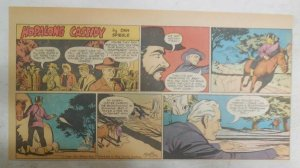 Hopalong Cassidy Sunday Page by Dan Spiegle from 8/21/1955 Size: 7.5 x 15 inches