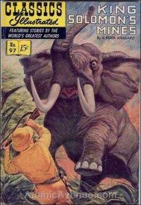 Classics Illustrated (Gilberton) #97 VG; Gilberton   low grade comic - save on s