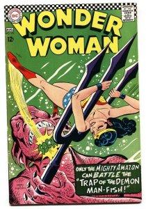 Wonder Woman #171 1967-DC-Demon Man-Fish