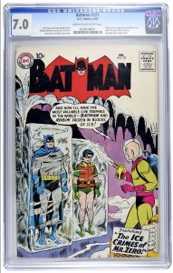 Batman #121 CGC Graded 7.0