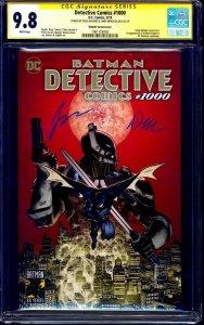 Detective Comics #1000 PLANET VARIANT CGC SS 9.8 signed x2 Mahnke Mendoza