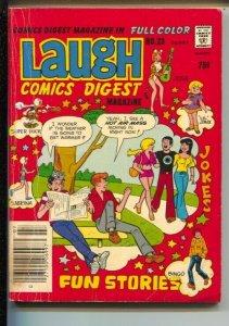 Laugh Comics Digest #23 1979-Fawcett-Betty-Archie-Veronica-Josie-Sabrina-Supe...